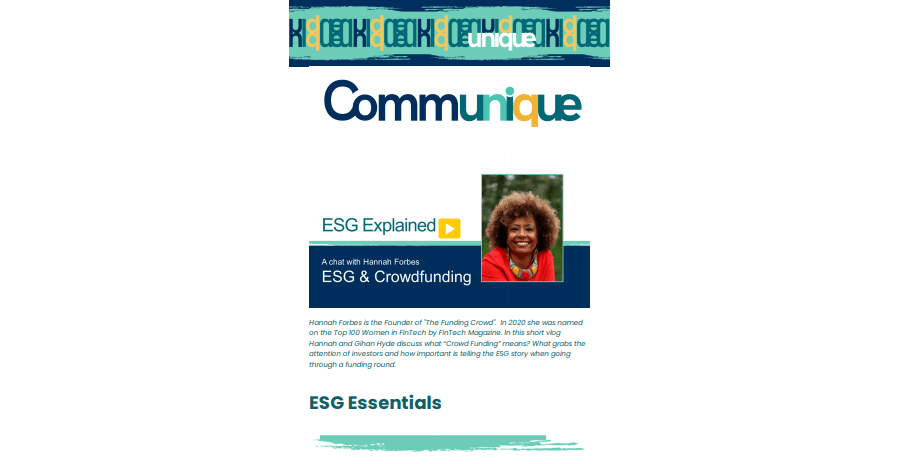 """""""ESG Explained"""" Issue 2 - May 13th"""